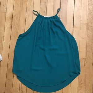 Teal Green Lush Dress Tank Top